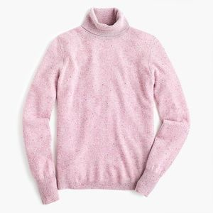J.Crew Turtleneck Sweater in Donegal Cashmere